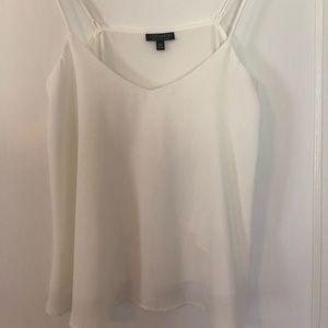Top shop ivory/cream camisole sz6